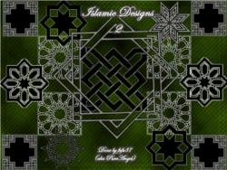 image of islamic geometry brushes download pack four