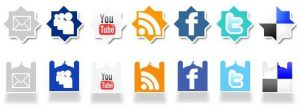 image of free islamic social media icons