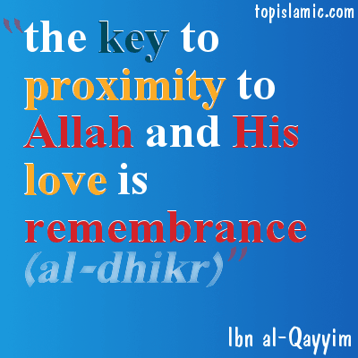 islamic pictures & quotes about remembrance