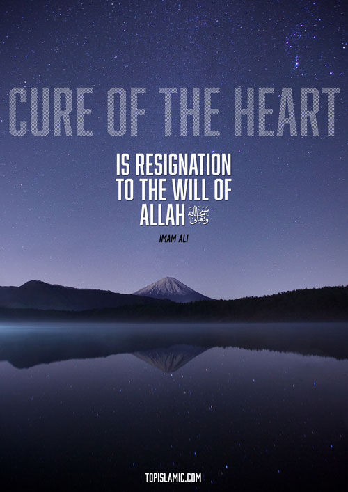 islamic poster cure heart imam ali