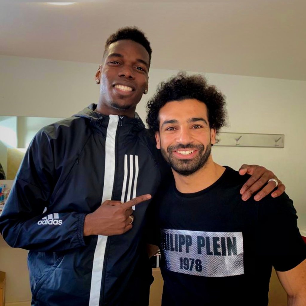 best muslim players Paul Pogba and Mohamed Salah from the Premier League