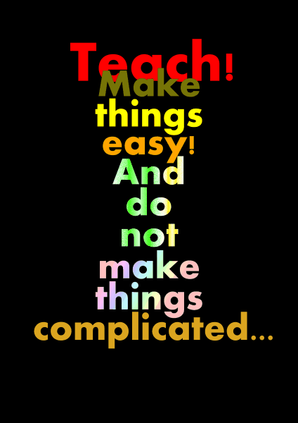 teaching effectively poster