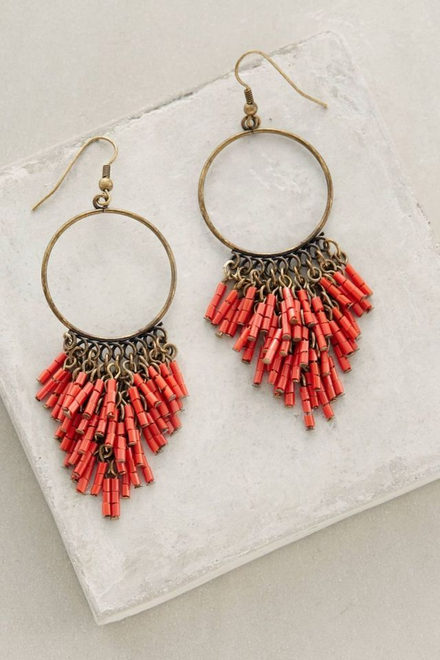 Anthropologie Canna Earrings