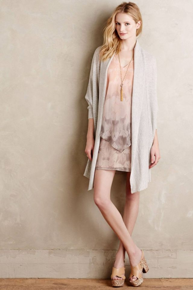 Cashmere Cocoon Cardigan by Moth