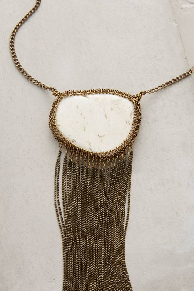 Cocheta Fringe Necklace by Lena Bernard