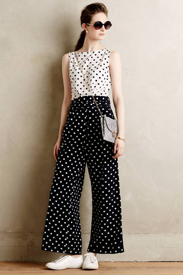 Domino Dot Jumpsuit by WHIT Two