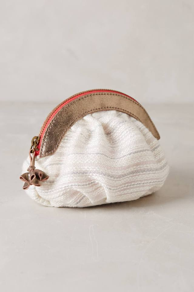Dusted Jacquard Pouch by Miss Albright