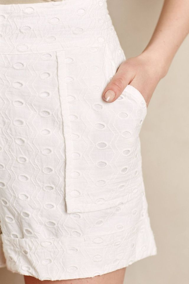 Elderflower Eyelet Shorts by Plenty by Tracy Reese