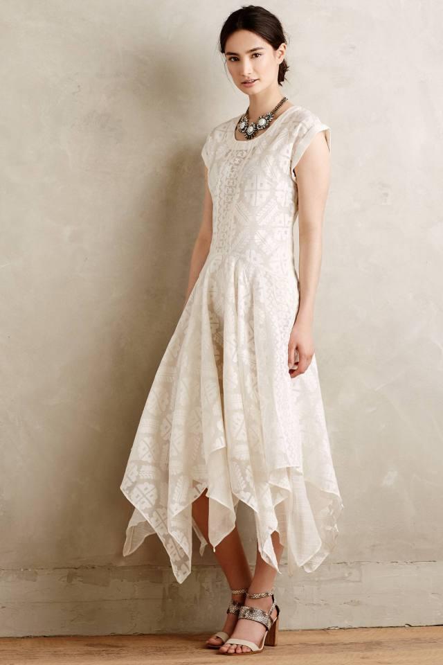 Embroidered Palena Dress by Payal Pratap