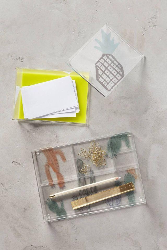 Equatorial Acrylic Desk Organizer