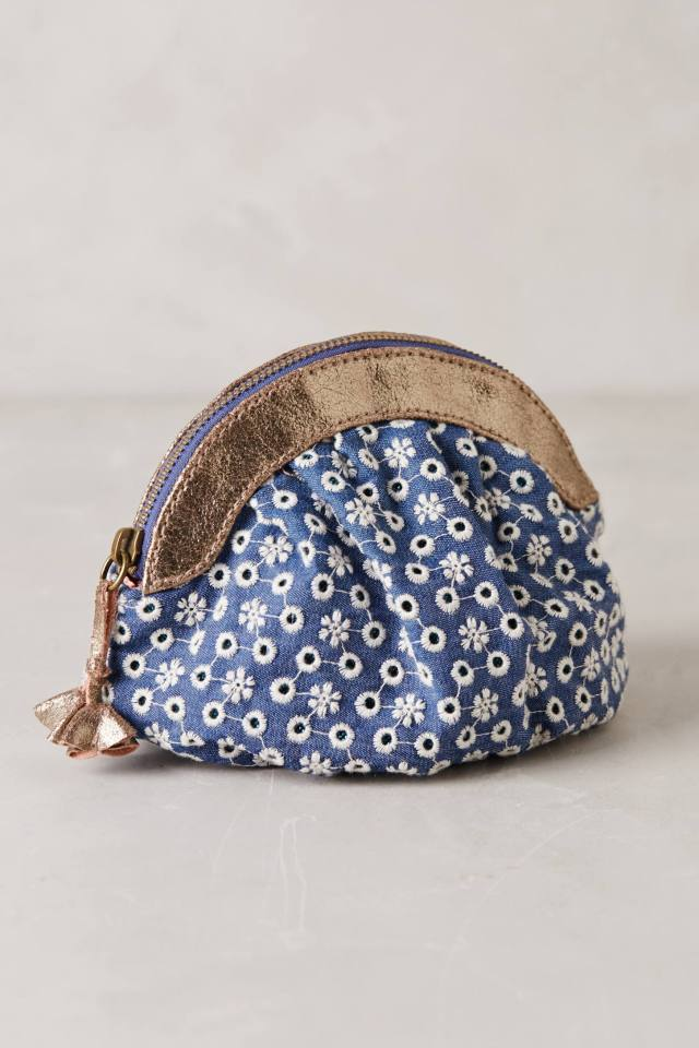 Eyelet Garden Pouch by Miss Albright