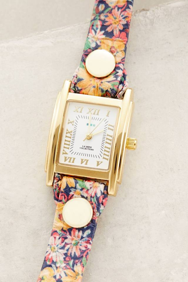 Flower Show Watch by La Mer