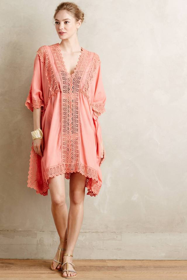 Isola Laced Caftan by Love Sam