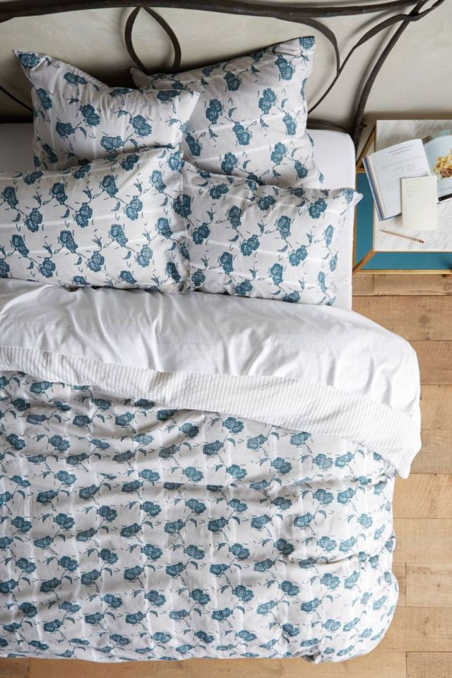 Paper Floral Duvet by Kerry Cassill