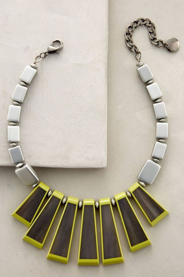 Lichen Fringe Necklace by Pono