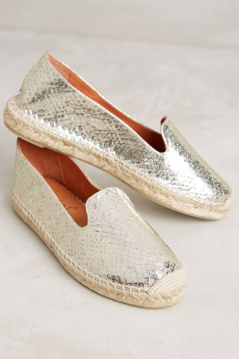 Anthropologie's New Arrivals: Espadrilles & Platforms