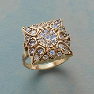 Anik Kastan Mosaic Moonstone Ring