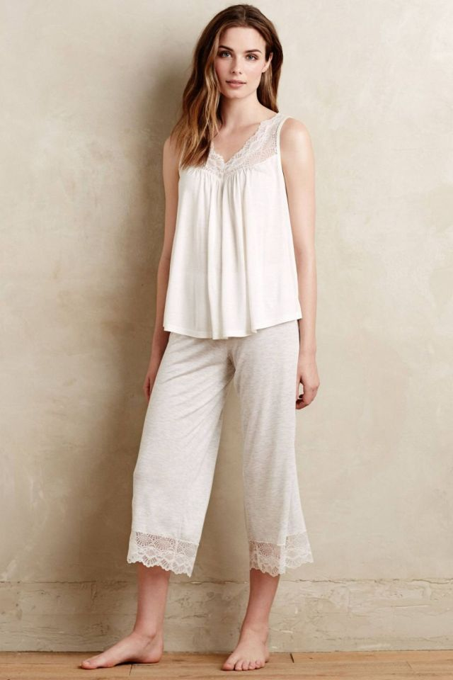Torcello Cropped Sleep Pants
