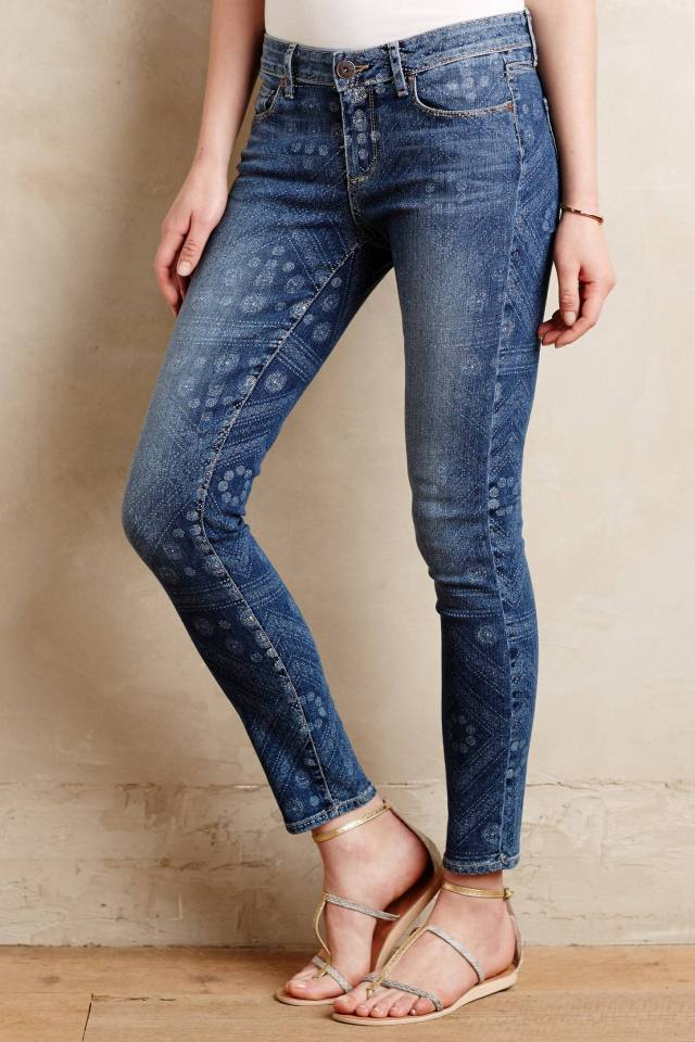 Verdugo Printed Ankle Jeans by Paige