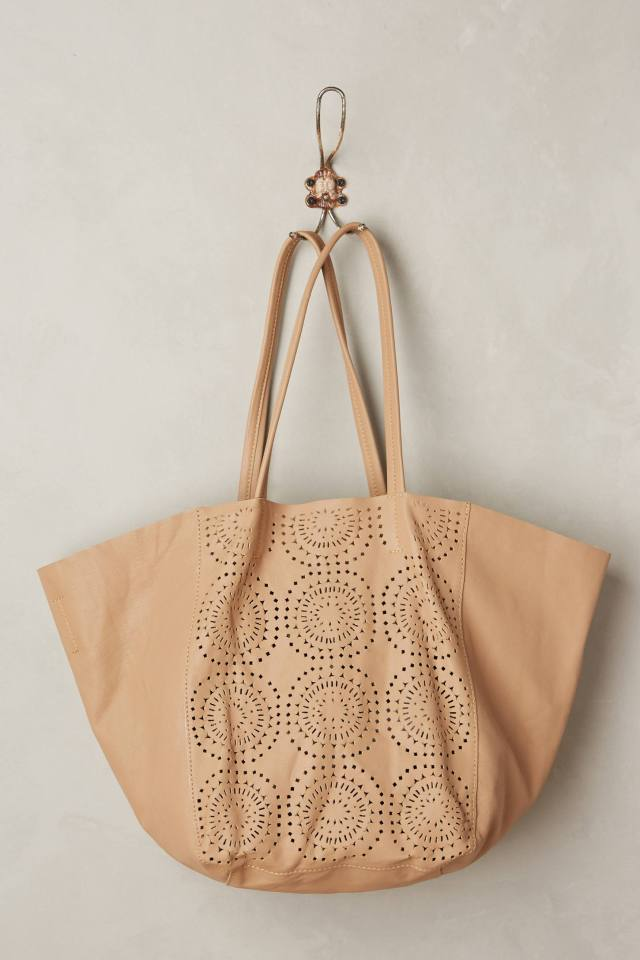 Perfed Circle Bag by Cleobella