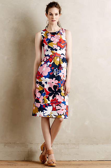 Petalprint Cross-Back Dress by WHIT Two