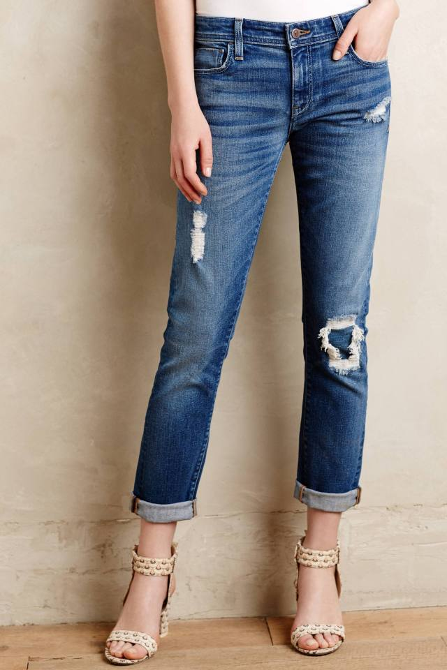 Hyphen Rip Repair Jeans by Pilcro
