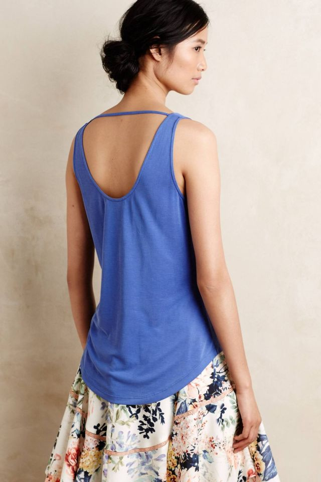 Pleated Tightrope Tank by Lost April