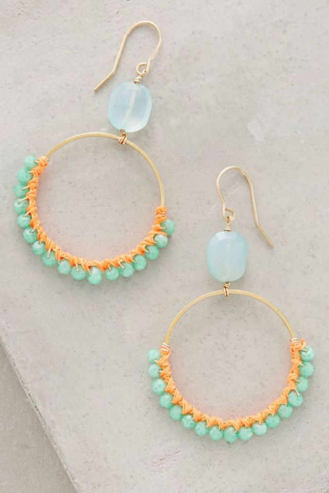 Rain-Ringed Hoops by Bluma Project
