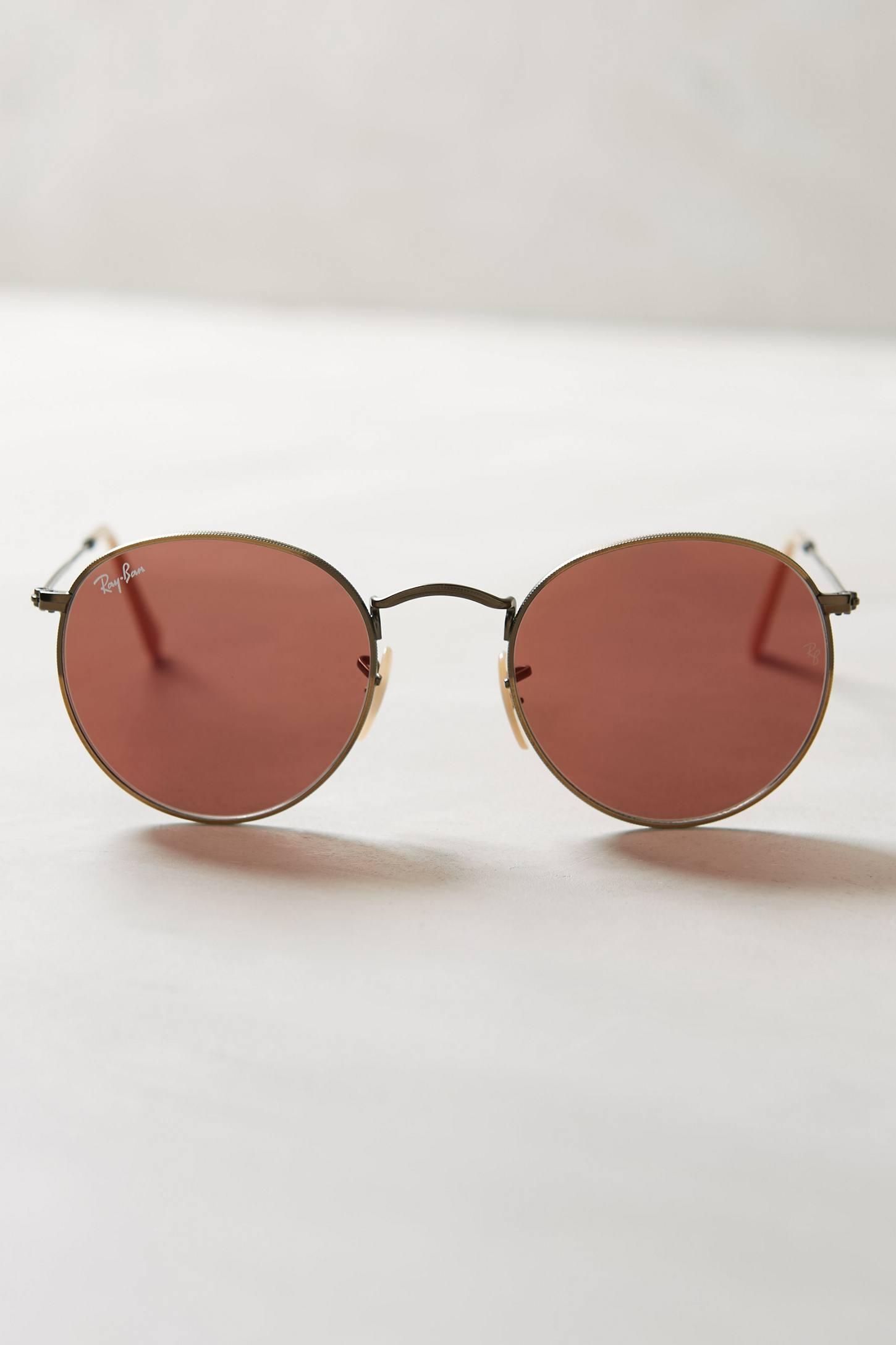 ray ban velvet round keyhole sunglasses  keyhole round sunglasses by ray ban