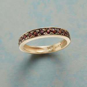 Anik Kastan Ring Of Roses Band In Yellow Gold