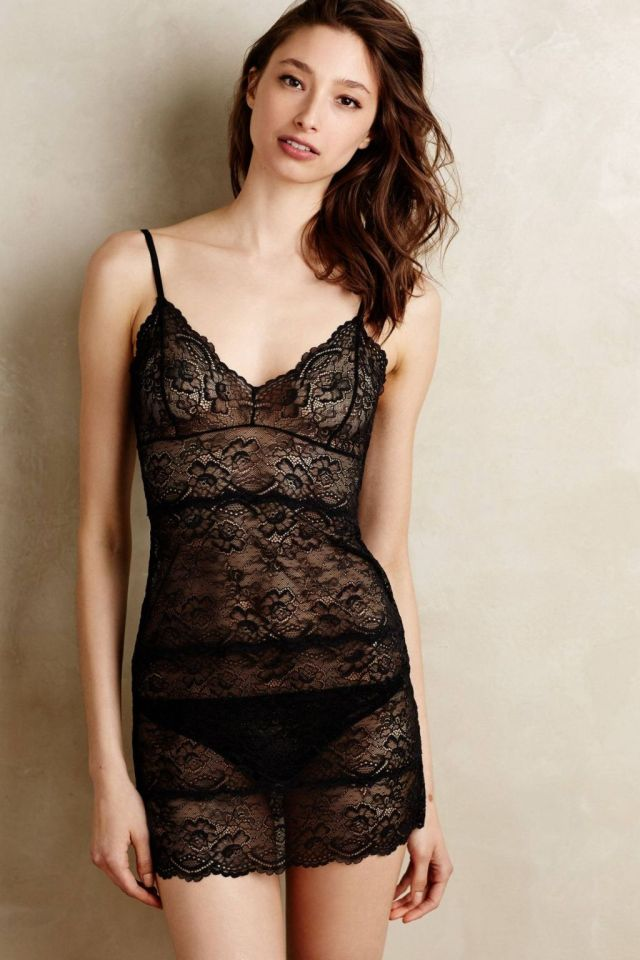Laced Chateau Chemise by Samantha Chang