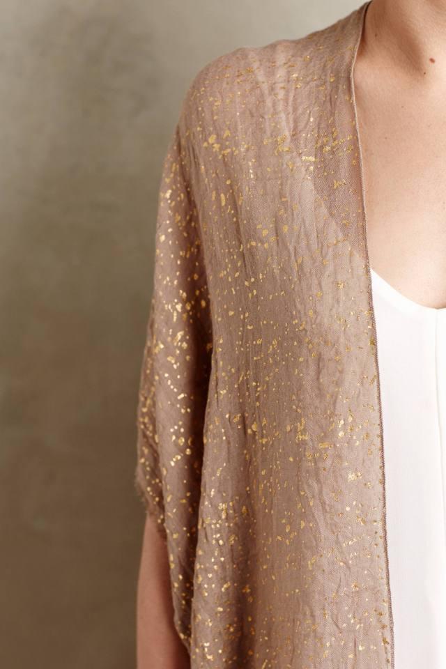 Shimmered Esterel Kimono by Subtle Luxury
