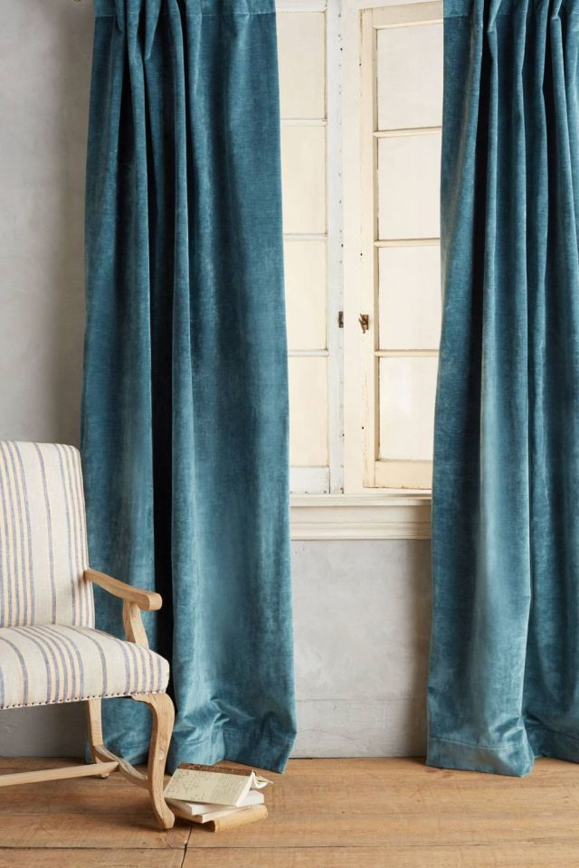 Slub Velvet Curtain
