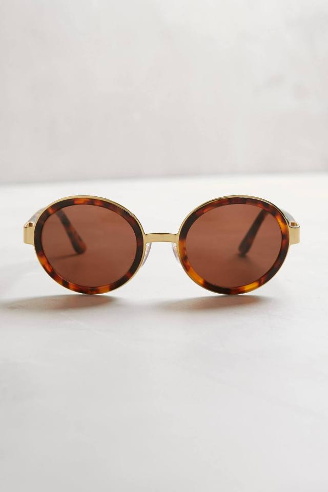 Santa Spotted Sunglasses by Super by Retrosuperfuture