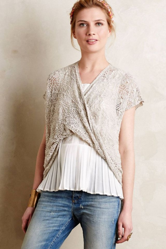 Twisted Cross-Front Top by Moth
