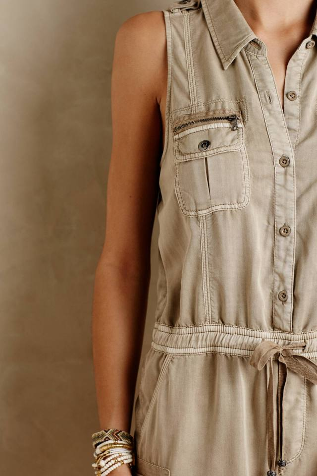 Utility Romper by Marrakech
