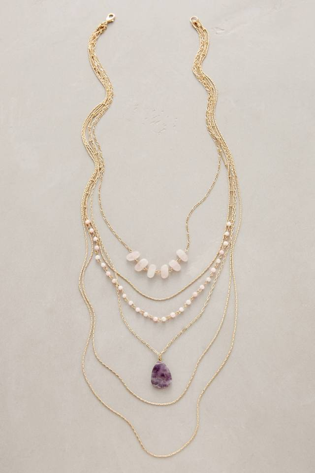 Violett Layer Necklace