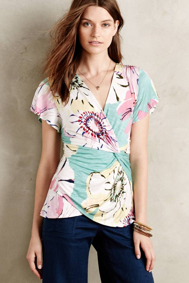 Azores Flutter Tee by Deletta