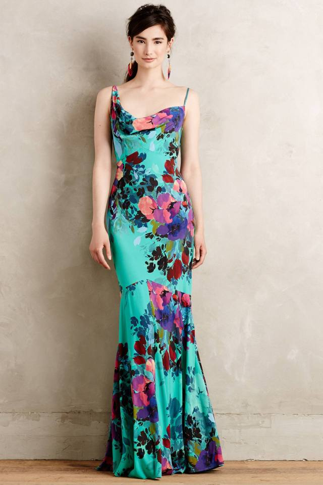 Botanical Gardens Gown by Nicole Miller