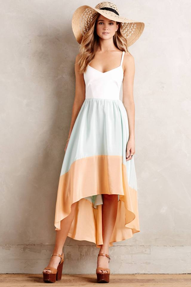 Colorblocked Sama Dress by Hutch