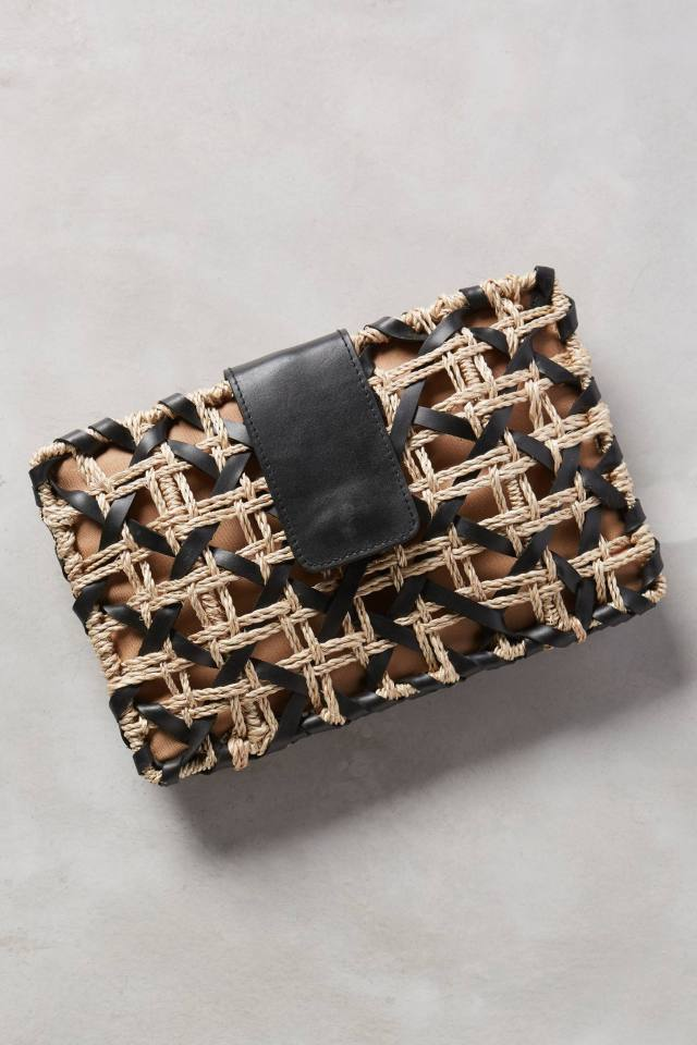 Crisscross Clutch by Vincent Pradier
