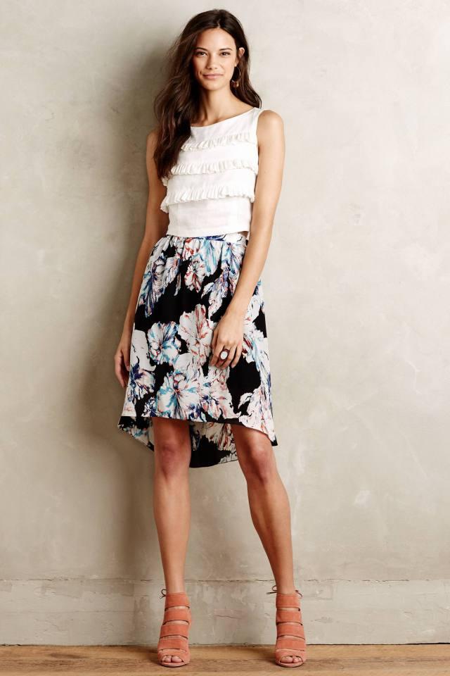 Daline Silk Skirt by Myne