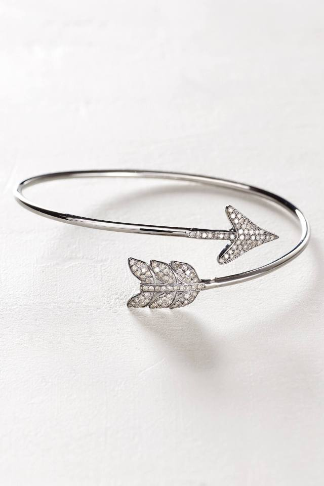 Diamond Arrow Cuff by Renee Sheppard