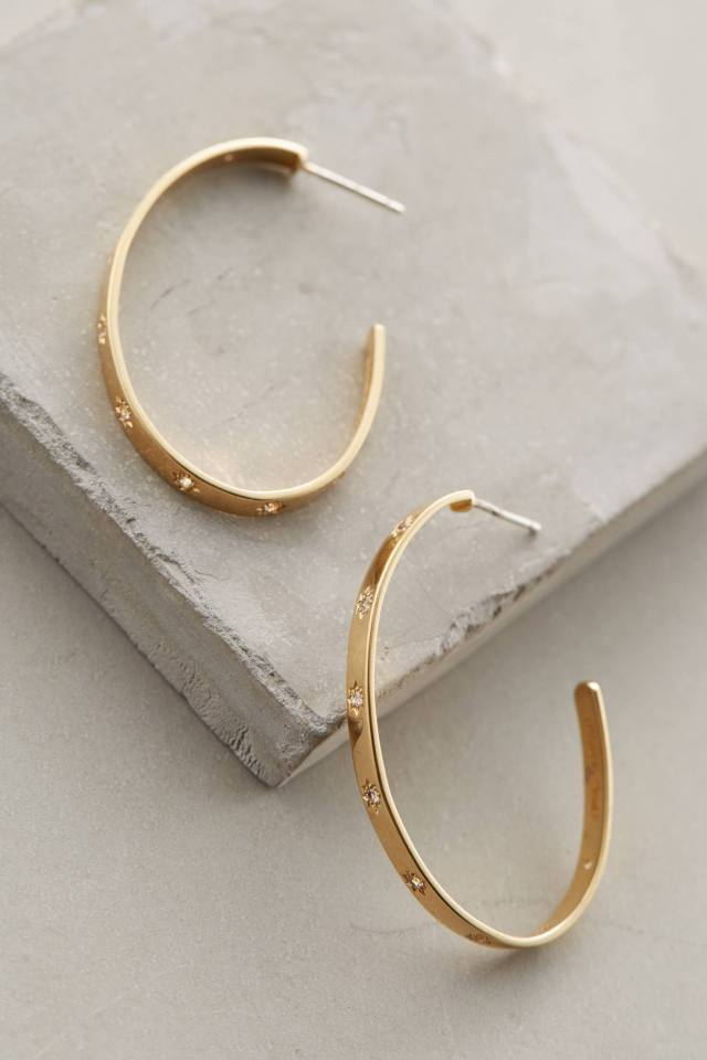 Bassa Hoops by Elizabeth and James