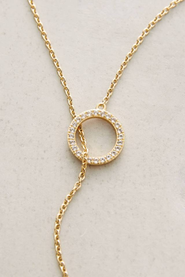 Eva Lariat Necklace by Elizabeth and James