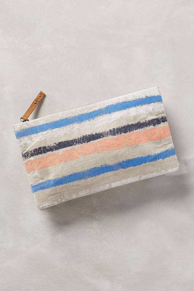 Naoko Linen Clutch by Miss Albright