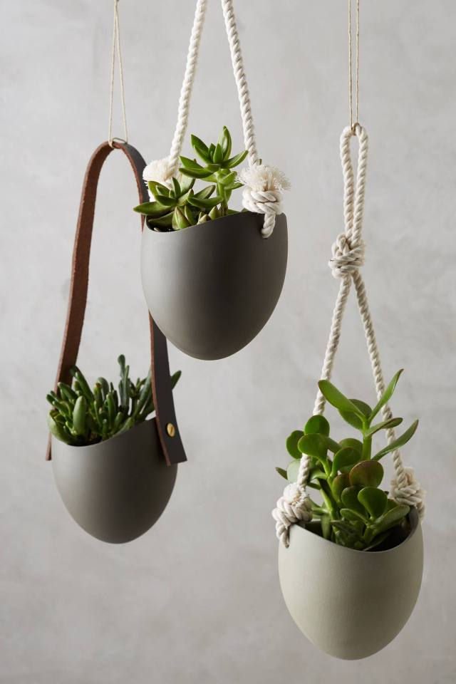 Riverstone Wall Planter by Farrah Sit