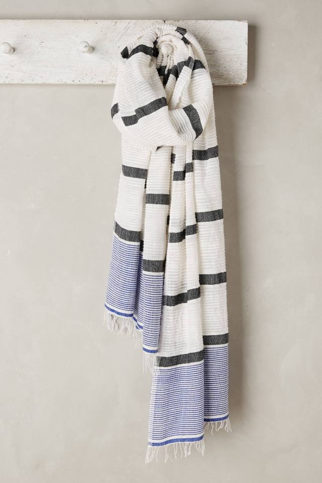 Striped Beehive Scarf by Lemlem