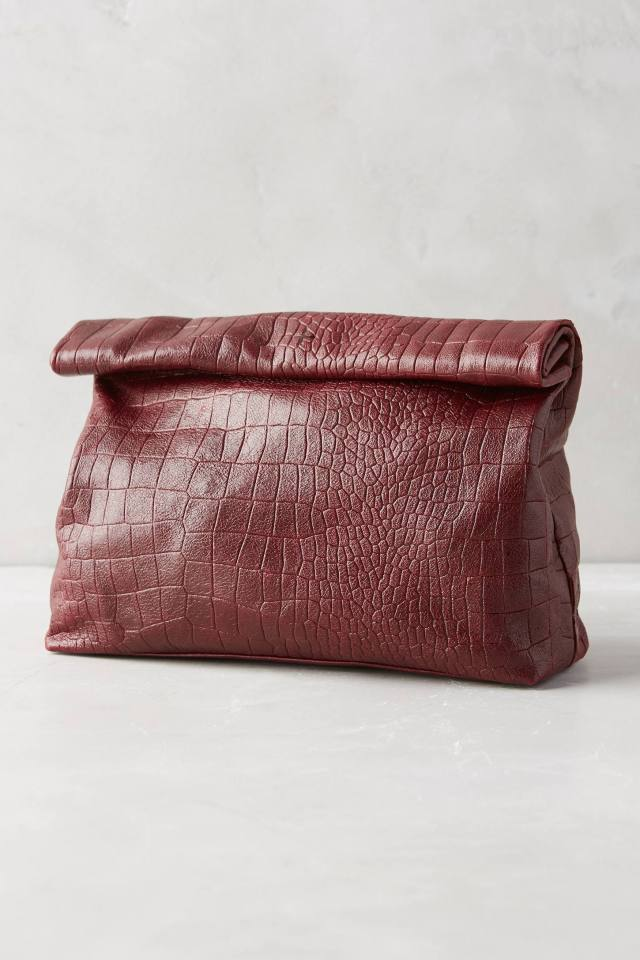 Embossed Clutch by Marie Turnor