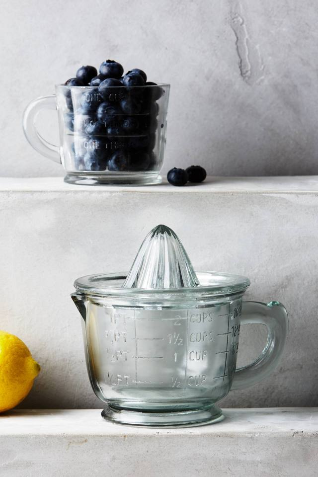 Rustic Glass Kitchenware